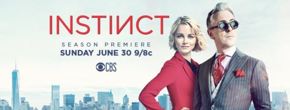 Instinct TV show on CBS: season 2 ratings (canceled or renewed season3?)