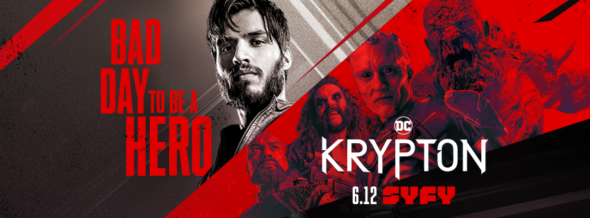 Krypton TV show on Syfy: season 2 ratings (canceled or renewed season 3?)