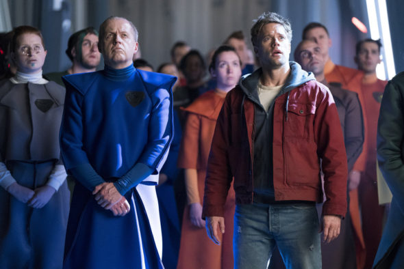 Krypton TV show on Syfy: season 2 viewer votes (cancel or renew season 3?)