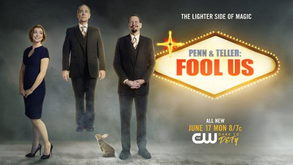 Penn & Teller: Fool Us TV show on The CW: season 6 ratings (canceled or renewed season 7?)