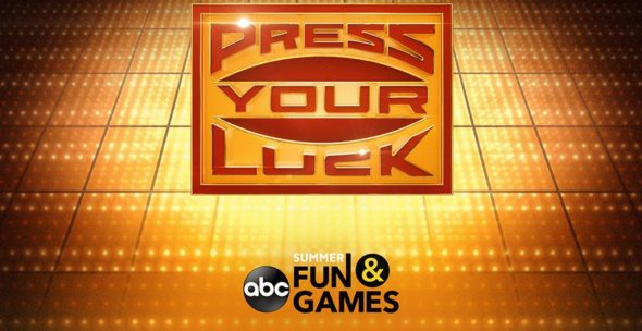 Press Your Luck TV show on ABC: season 1 ratings (canceled or renewed season 2?)