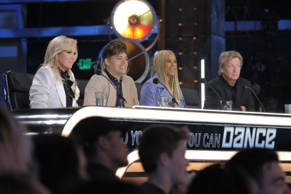 "So You Think You Can Dance TV Show on FOX: canceled or season 17? (release date); Vulture Watch; Pictured: Mary Murphy, Dominic ""D-Trix"" Sandoval, Laurieann Gibson, Nigel Lythgoe"