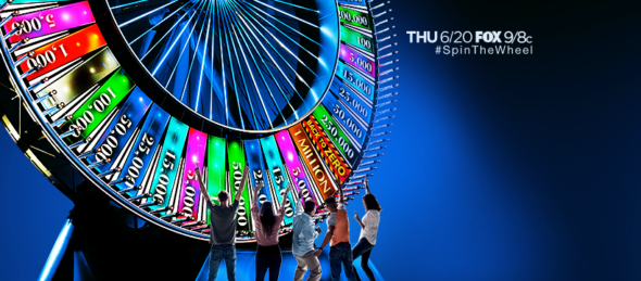 Spin the Wheel TV Show on FOX - canceled TV shows - TV