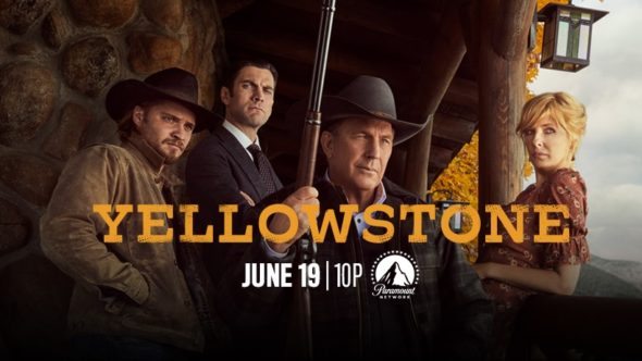 Yellowstone TV show on Paramount Network: season 2 ratings (canceled or renewed season 3?)