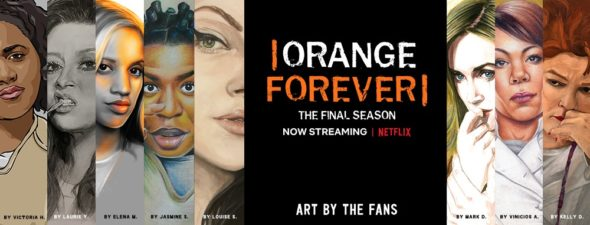 Orange Is the New Black TV show on Netflix: season 7 viewer votes (cancel renew: no season 8)