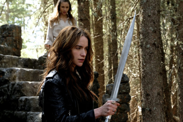 Wynonna Earp TV show on Syfy: (canceled or renewed?)