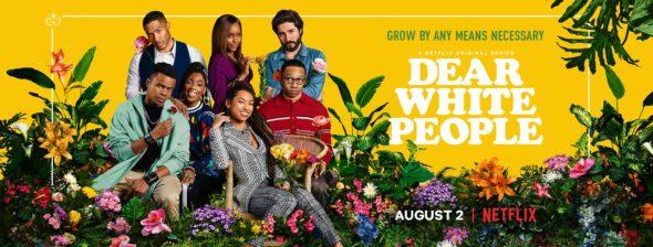 Dear White People TV show on Netflix: season 3 viewer votes (cancel renew season 4?)