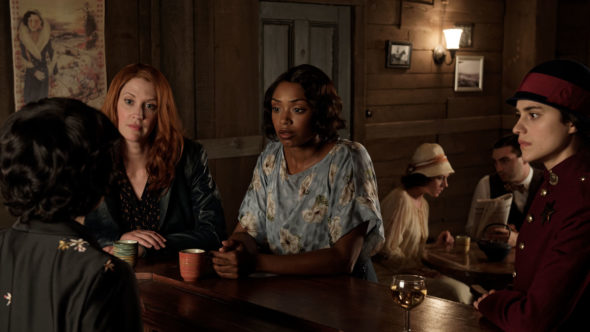 Frankie Drake Mysteries TV show on Ovation: canceled or season 3? (release date); Vulture Watch
