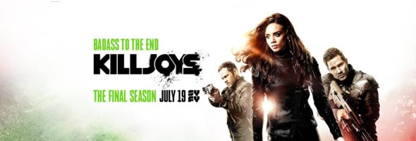 Killjoys TV show on Syfy: season 5 ratings (canceled or renewed season 6?)