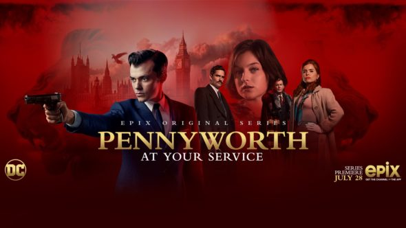 Pennyworth TV show on EPIX: season 1 viewer votes (cancel renew season 2?)