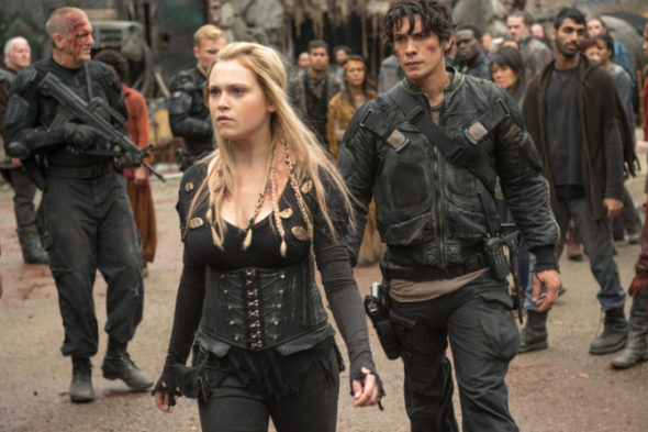 The 100 TV show on The CW: ending in 2020, no season 8