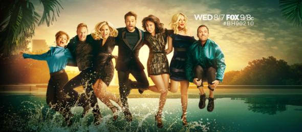 BH90210 TV show on FOX: season 1 ratings (canceled or renewed for season 2?)