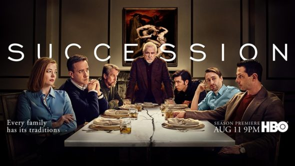 Succession TV show on HBO: season 2 ratings (canceled renewed season 3?)