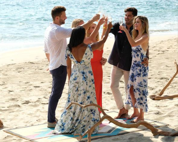 tuesday tv ratings bachelor  paradise bring  funny pandora    fbi canceled