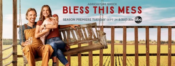 Bless This Mess TV show on ABC: season 2 ratings (canceled or renewed for season 3?)