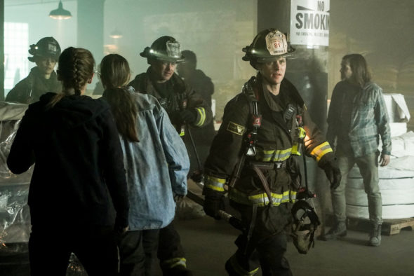 Chicago Fire TV show on NBC: canceled or renewed for season 9?