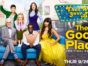 The Good Place TV show on NBC: season four ratings (cancel or renew?)