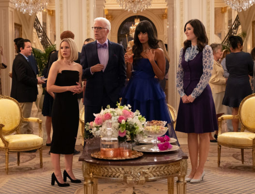 The Good Place TV show on NBC: season four viewer votes
