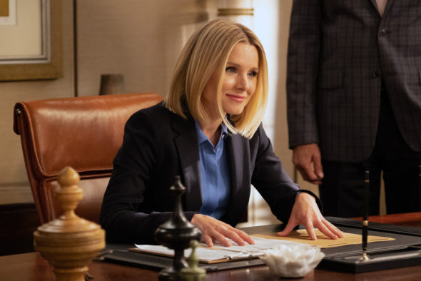 The Good Place TV show on NBC: canceled? season five?