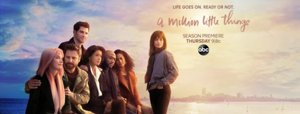 A Million LIttle Things TV show on ABC: season 2 ratings (cancel or renew?)