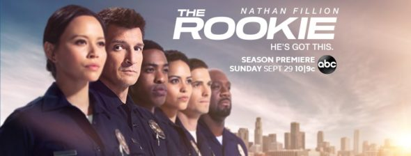 The Rookie TV show on ABC: season 2 ratings (canceled or renewed?)