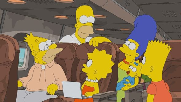 The Simpsons TV show on FOX: season 31 viewer votes