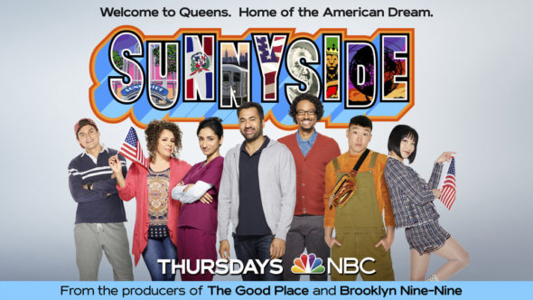 Sunnyside TV show on NBC: ratings (canceled or renewed for season two)?