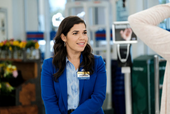 Superstore TV show on NBC: season five viewer votes (cancel or renew?)