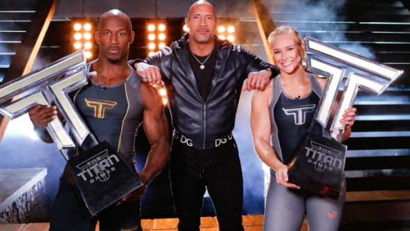 The Titan Games TV show on NBC: (canceled or renewed?)