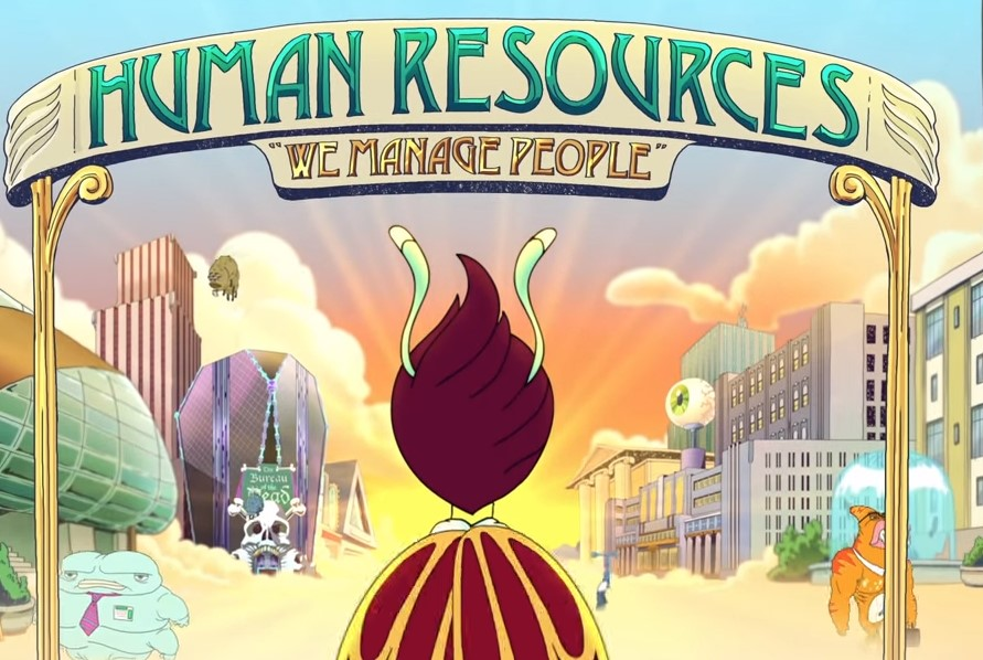 human resources  netflix orders animated workplace comedy