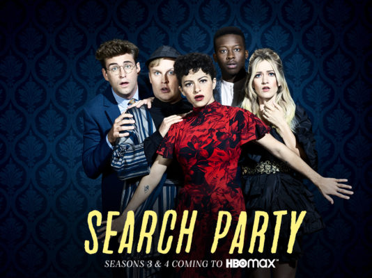 Search Party TV show on TBS, moving to HBO Max: season three and season four renewal