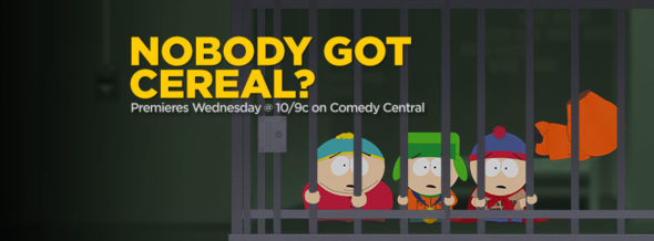 South Park TV show on Comedy Central: season 23 ratings (cancel or renew?)
