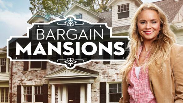 Bargain Mansions TV Show on HGTV: canceled or renewed?