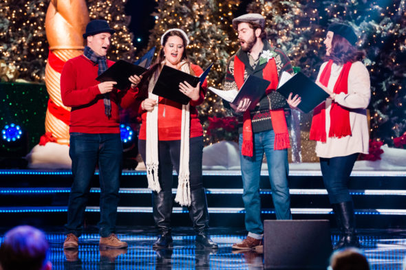 The Christmas Caroler Challenge TV show on The CW: canceled or renewed for season 2?