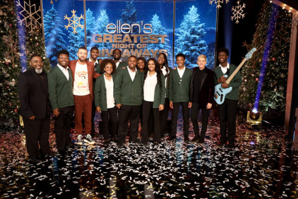 Ellen's Greatest Night of Giveaways TV show on NBC: canceled or renewed for season 2?