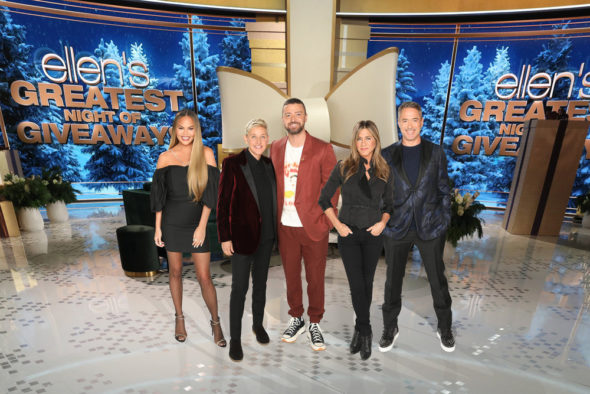Ellen's Greatest Night of Giveaways TV show on NBC: canceled or renewed?