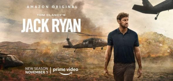 Tom Clancy's Jack Ryan TV show on Amazon Prime: season 2 viewer votes