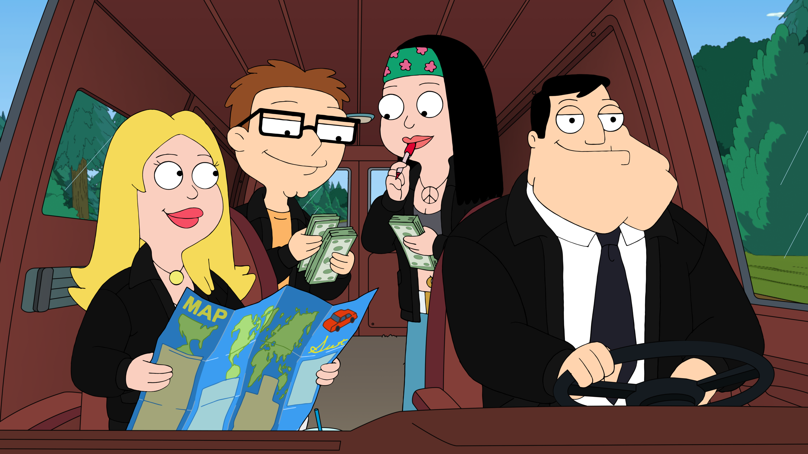 American Dad Wife american dad!: seasons 16 and 17; tbs animated series