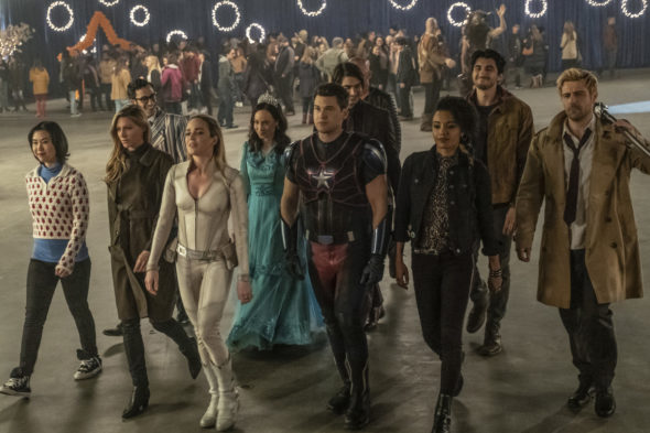 DC's Legends of Tomorrow on The CW: season six renewal
