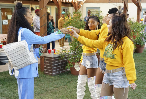 Grown-ish TV show on Freeform: season 4 renewal