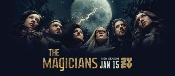 The Magicians TV show on Syfy: season 5 ratings
