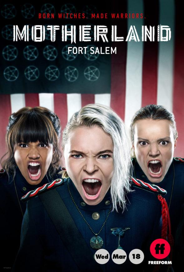 Patrie: émission de télévision de Fort Salem sous forme libre: annulée ou renouvelée?