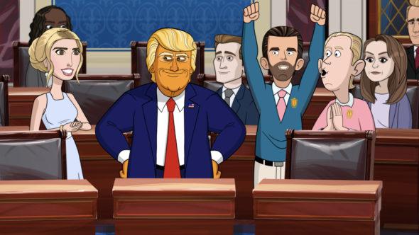 Our Cartoon President TV show on Showtime: season 3 ratings