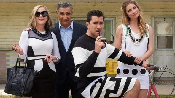 Schitt's Creek TV show on Pop: cancelled? renewed for season 7?