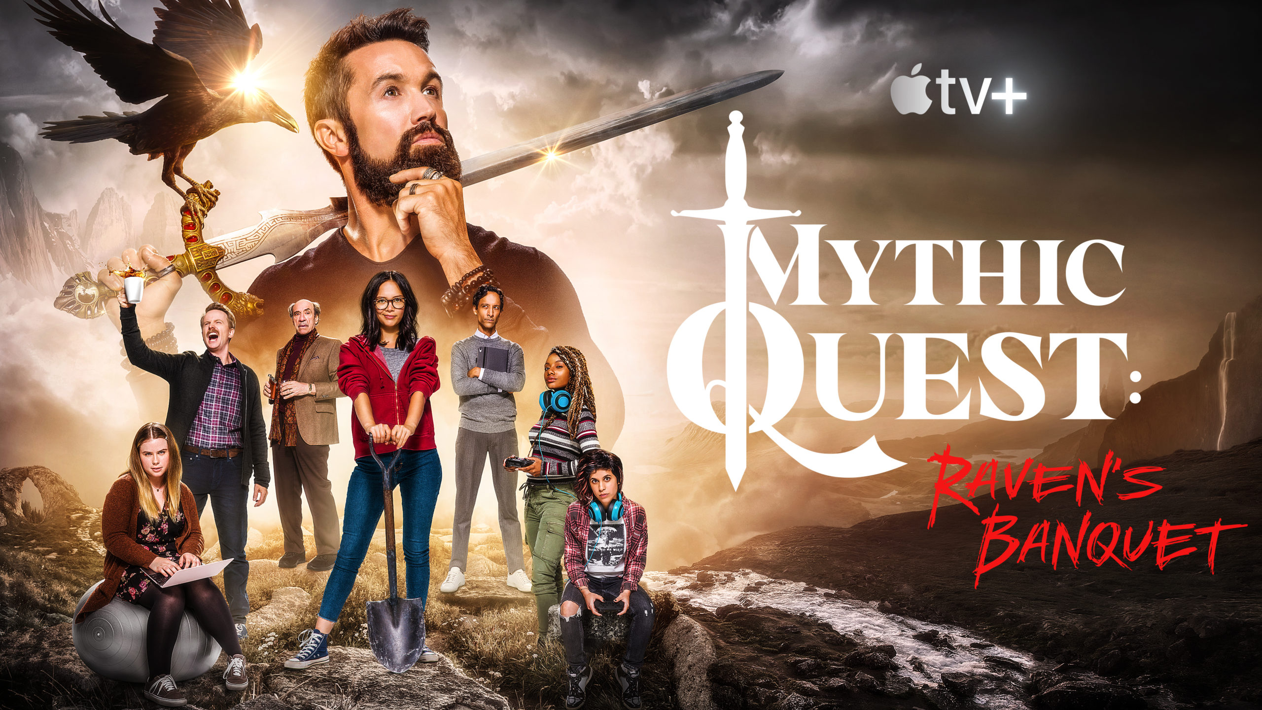 Mythic Quest: Raven's Banquet on AppleTV+: cancelled? season 2 ...