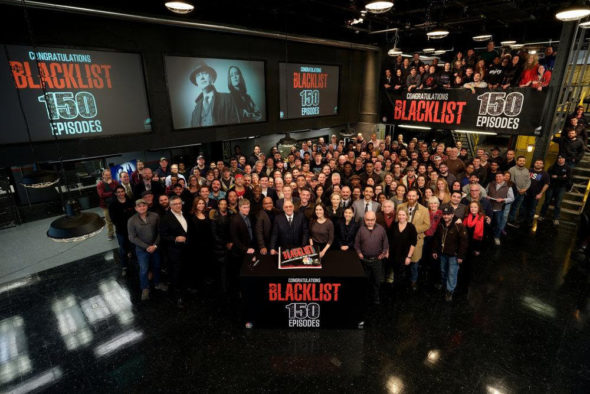 The Blacklist TV show on NBC: season 8 renewal
