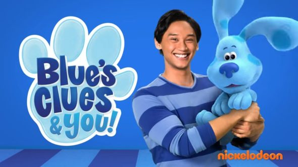 Blue's Clues and You TV show on Nickelodeon: season 3 renewal