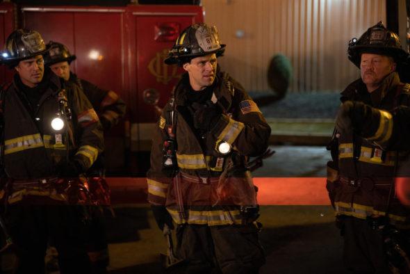 Chicago Fire TV show on NBC: season 9 (2020-21), season 10 (2021-22), season 11 (2022-23) renewals