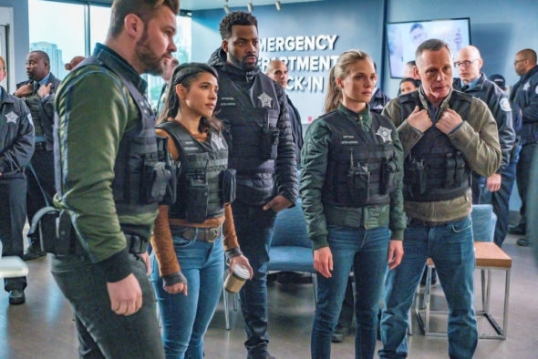 Chicago PD TV show on NBC: season 8 (2020-21), season 9 (2021-22), season 10 (2022-23) renewals