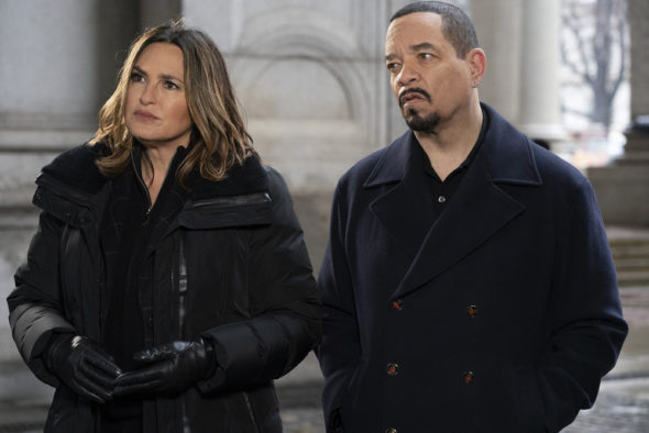 Law and Order: Special Victims Unit TV show on NBC: season 22 (2020-21), season 23 (2021-22), season 24 (2022-23) renewal